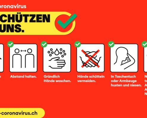 Schützen gegen das Coronavirus
